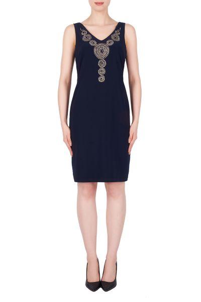 Joseph Ribkoff Midnight Blue Dress Style 191003