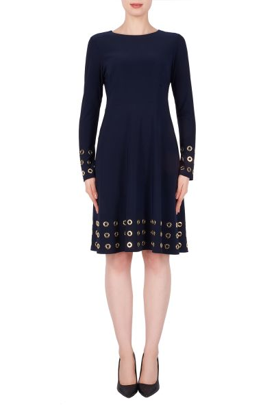 Joseph Ribkoff Midnight Blue Dress Style 191009