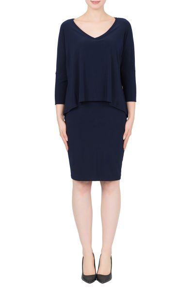 Joseph Ribkoff Midnight Blue Dress Style 191027