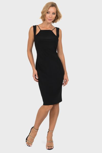 Joseph Ribkoff Black Dress Style 191039