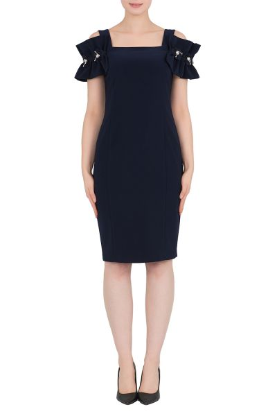 Joseph Ribkoff Midnight Blue Dress Style 191041