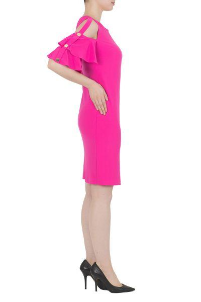 Joseph Ribkoff Neon Pink Dress Style 191042