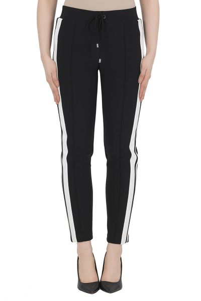 Joseph Ribkoff Black/Vanilla Pant Style 191097