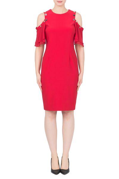 Joseph Ribkoff Lipstick Red Dress Style 191201
