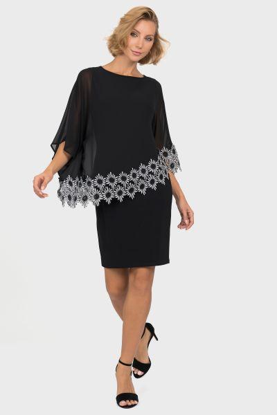 Joseph Ribkoff Black/White Dress Style 191202