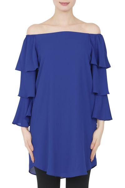 Joseph Ribkof Tunic/ Dress Royal Sapphire Style 191241