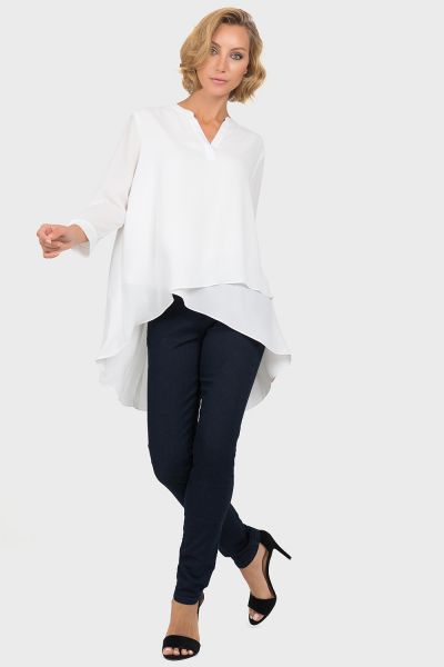 Joseph Ribkoff Off-White Blouse Style 191268