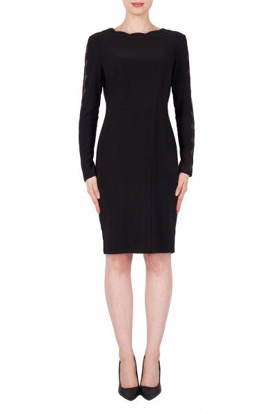 Joseph Ribkoff Black Dress Style 191302