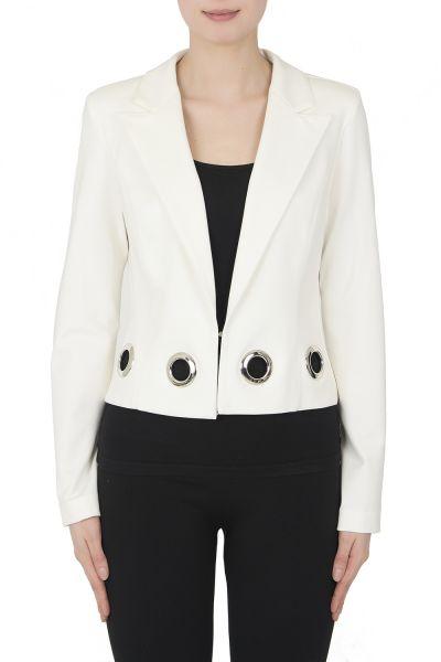 Joseph Ribkoff White Jacket Style 191385