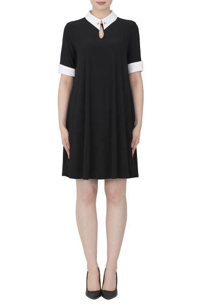 Joseph Ribkoff Black Dress Style 191438