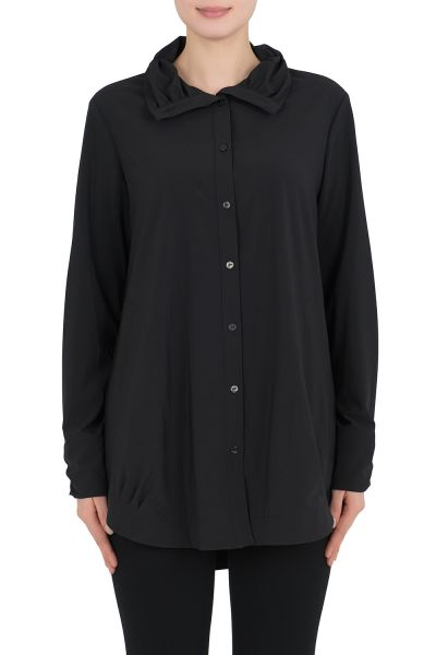 Joseph Ribkoff Black Blouse Style 191439