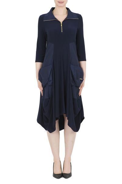 Joseph Ribkoff Midnight Blue Dress Style 191452X