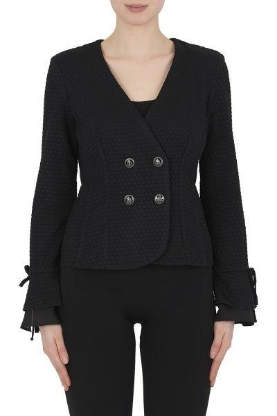Joseph Ribkoff Black Jacket Style 191473