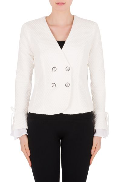 Joseph Ribkoff Vanilla Jacket Style 191473
