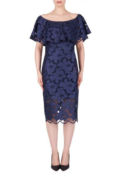 Joseph Ribkoff Navy Dress Style 191492