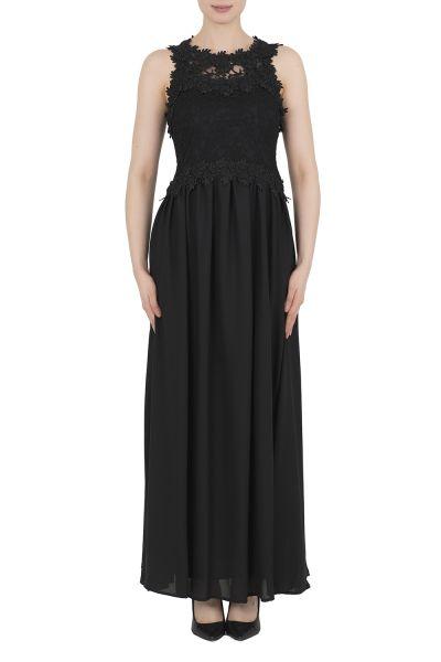Joseph Ribkoff Black/Black Dress Style 191516
