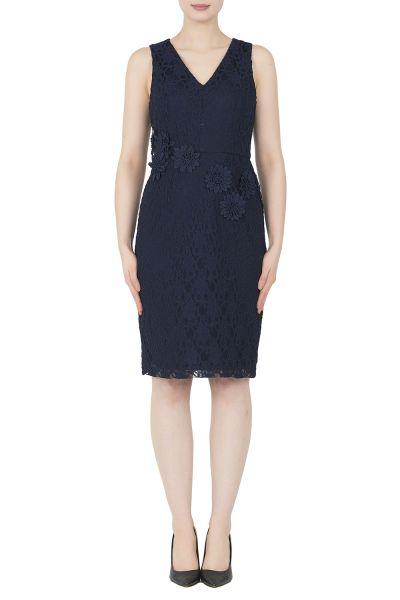 Joseph Ribkoff Midnight Blue Dress Style 191517