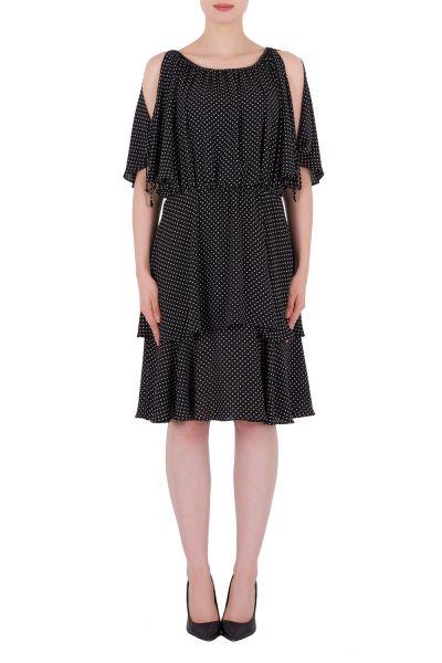 Joseph Ribkoff Black/White Dress Style 191609