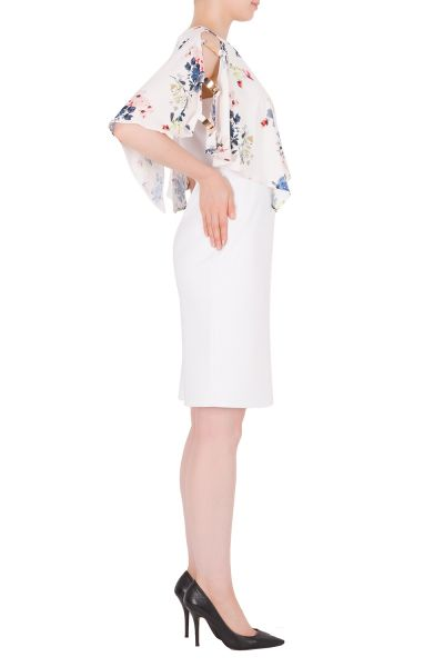 Joseph Ribkoff Vanilla/Multi Dress Style 191625