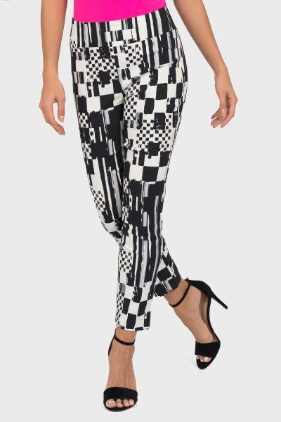 Joseph Ribkoff Black/White Pants Style 191666
