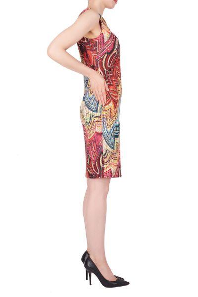 Joseph Ribkoff Purple/Multi Dress Style 191678