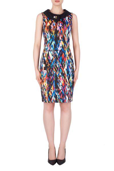 Joseph Ribkoff Blue/Multi/Black Dress Style 191725