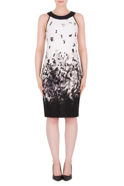 Joseph Ribkoff Vanilla/Black Dress Style 191730