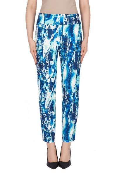 Joseph Ribkoff Blue/Multi Pants Style 191760