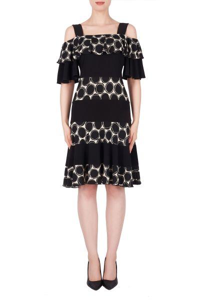 Joseph Ribkoff Beige/Black Dress Style 191812