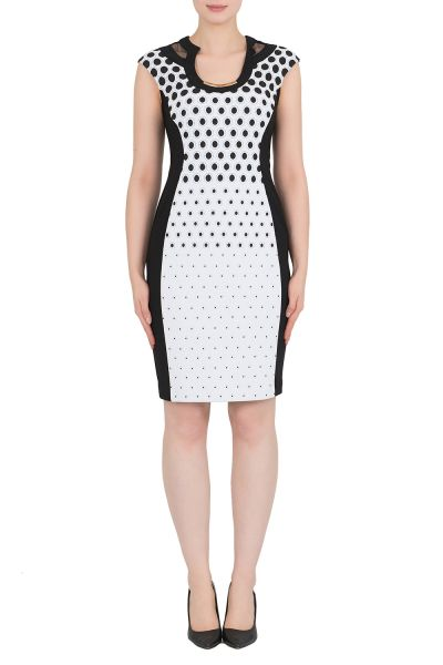 Joseph Ribkoff Black/White Dress Style 191896