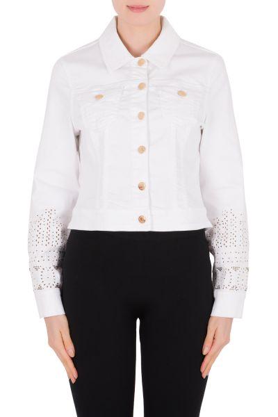 Joseph Ribkoff White Jacket Style 191973