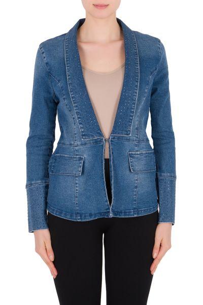Joseph Ribkoff Blue Jacket Style 191976
