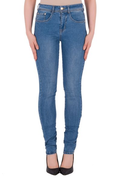 Joseph Ribkoff Blue Denim Jeans Style 191996