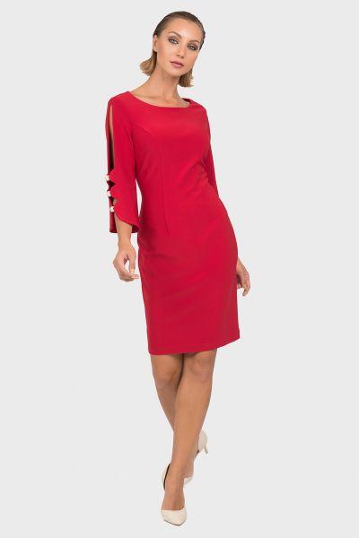 Joseph Ribkoff Lipstick Red Dress Style 192005