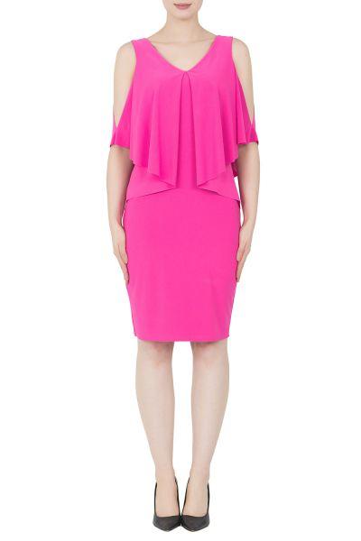Joseph Ribkoff Neon Pink Dress Style 192007