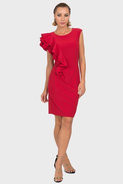 Joseph Ribkoff Lipstick Red Dress Style 192010