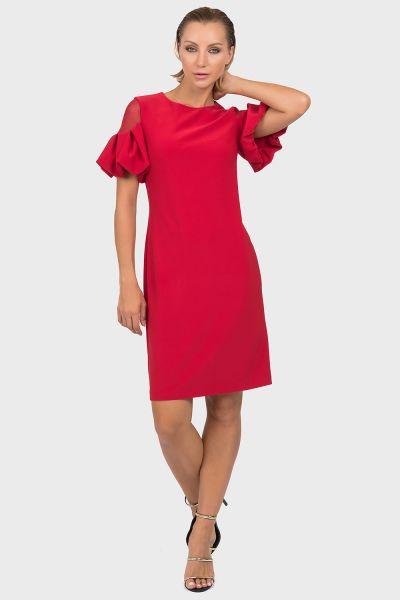 Joseph Ribkoff Lipstick Red Dress Style 192015