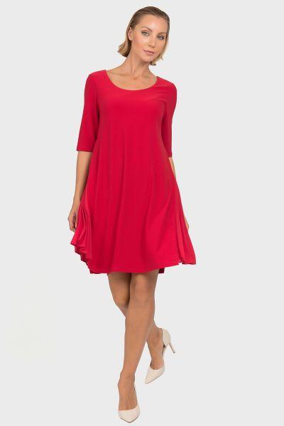 Joseph Ribkoff Lipstick Red Dress Style 192235
