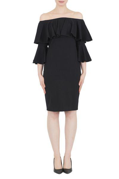 Joseph Ribkoff Black Dress Style 192376