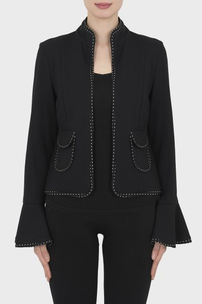 Joseph Ribkoff Black/Black Jacket Style 192378