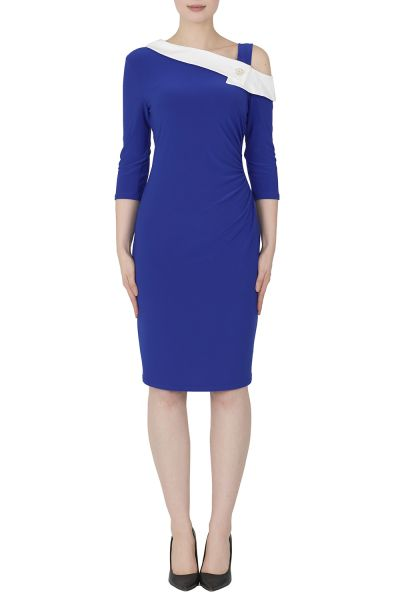 Joseph Ribkoff Royal Sapphire Dress Style 192441