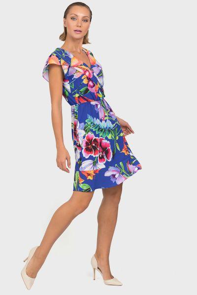 Joseph Ribkoff Blue/Multi Dress Style 192673