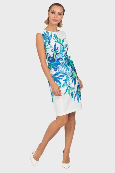 Joseph Ribkoff Vanilla/Multi Dress Style 192704