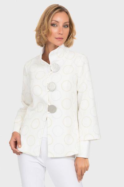 Joseph Ribkoff Ivory Jacket Style 192753