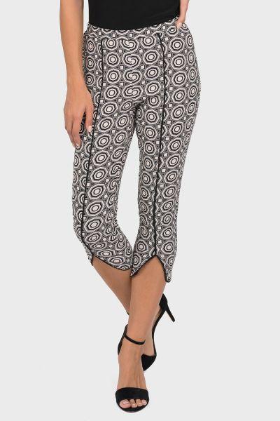 Joseph Ribkoff Black/Blush Pant Style 192764
