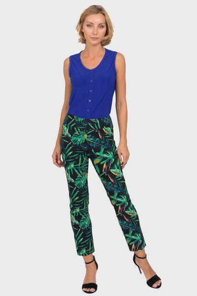 Joseph Ribkoff Black/Multi Pants Style 192772