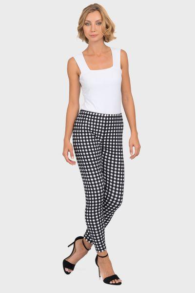 Joseph Ribkoff Black/White Pants Style 192840