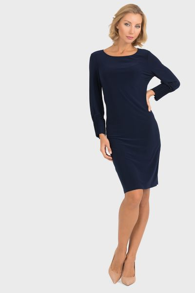 Joseph Ribkoff Midnight Blue Dress Style 193000