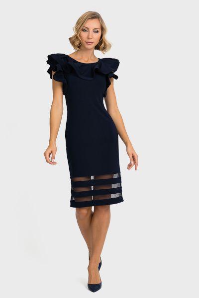 Joseph Ribkoff Navy Dress Style 193001