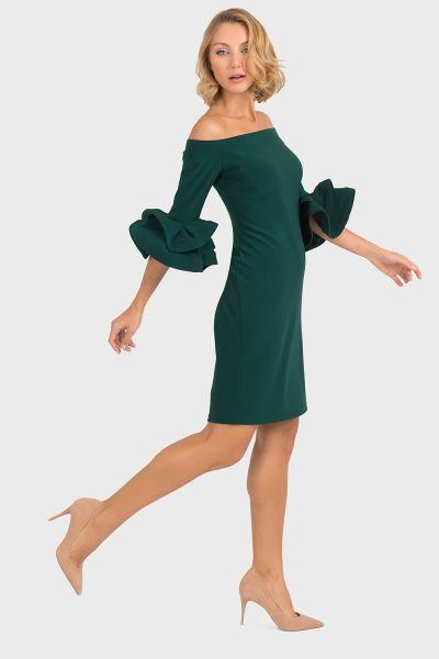 Joseph Ribkoff Emerald Green Dress Style 193007